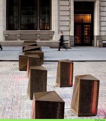 122 best bollards images on pinterest street art urban for Outdoor furniture geelong