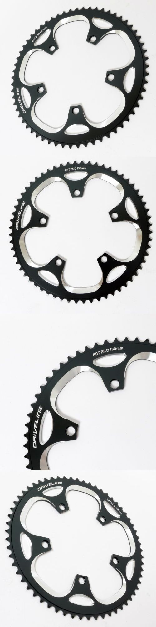 Chainrings and BMX Sprockets 177811: Mr_Ride Driveline Chainring 60T Bcd 130Mm Black For Folding Bike Birdy Dahon -> BUY IT NOW ONLY: $44.88 on eBay!