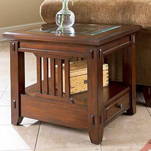 Vantana Rectangular End Table By Broyhill Furniture