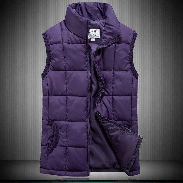 Woman fall Plus Size Cardigan turn-down collar Thick Down Waistcoat Female Winter Oversized Warm Down Vest Lady Down Jacket
