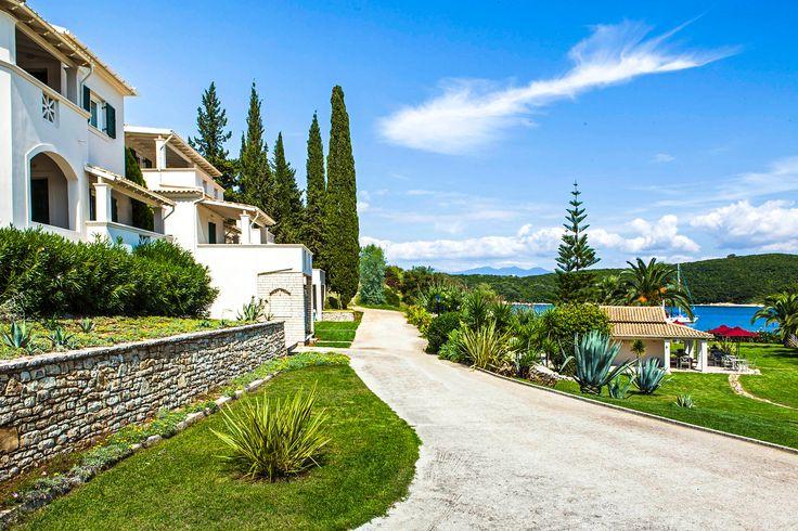 Beautiful hotel in Corfu island