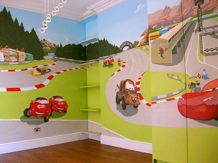 Pixaru0027s Cars Mural For  Part 87