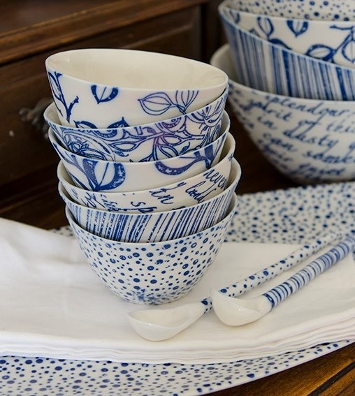 Eucalypt Designs - small bowls and oval platter by Eucalypt Homewares