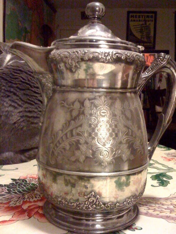 Wilcox Silverplate Company Water Pitcher Silver Plate