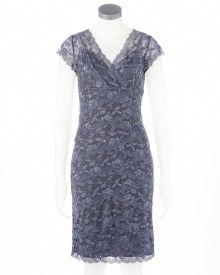 Cap Sleeve Lace Dress-Online Exclusive