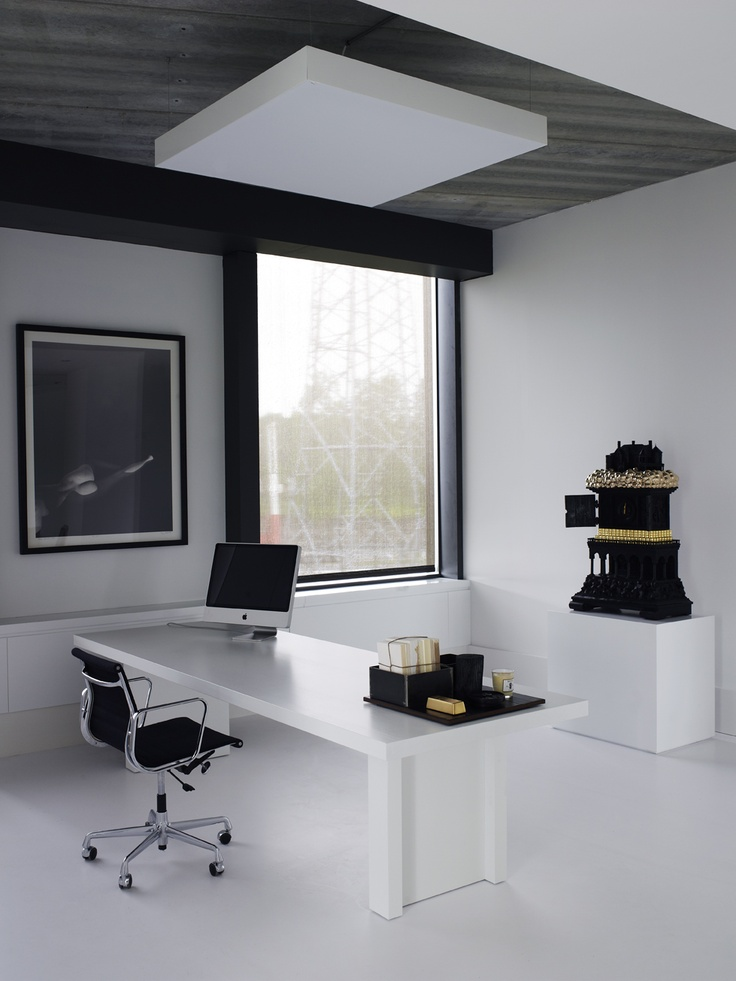 Office Of Dutch Designer Piet Boon   Artwork By Studio Job