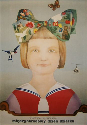 International Children's Day, 1973, by Maciej Urbaniec