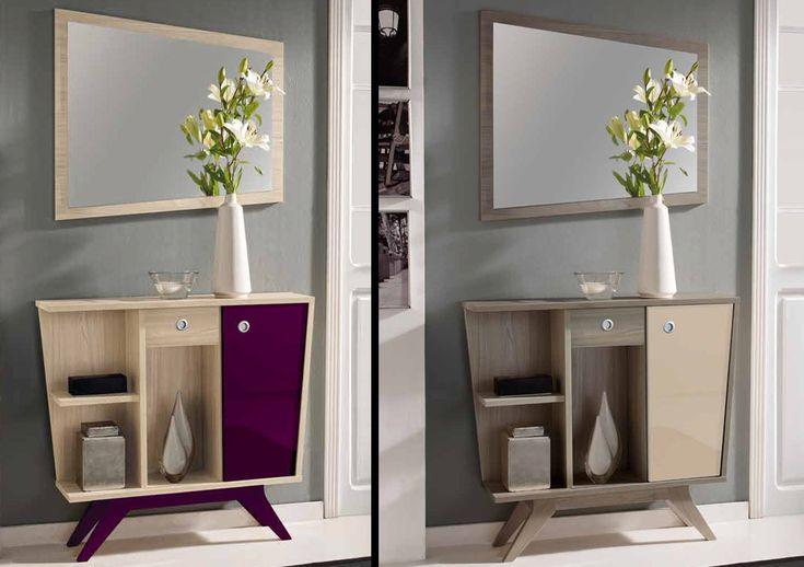 Ideas para decorar recibidores los olvidados de la casa - Colores para recibidores ...