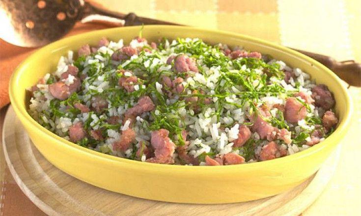 Arroz com Couve e Linguiça: Receita fácil para o almoço!