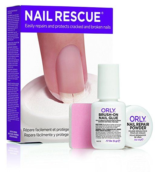 Orly Nail Treatment - Nail Rescue 5g. A strong, long-lasting nail repair treatment that fixes cracked and broken nails quickly. Professional salon formula Beautifully re-packaged Spa collection
