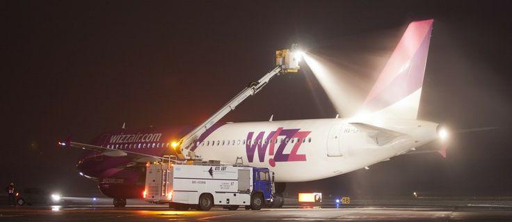 Wizz Air airbus deicing