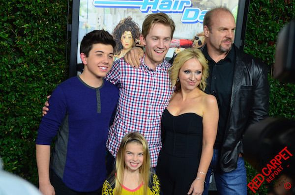 Cast of 'Good Luck Charlie' at the Bad Hair Day Premiere Screening Red Carpet Event #BadHairDay #DisneyChannelPR