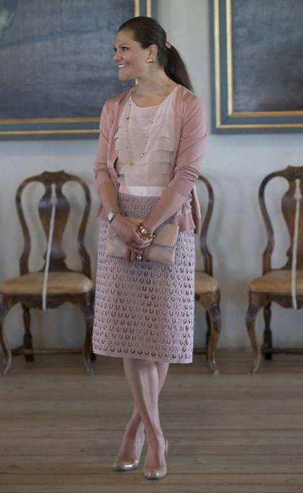 Victoria, Crown Princess of Sweden, Duchess of Västergötland.