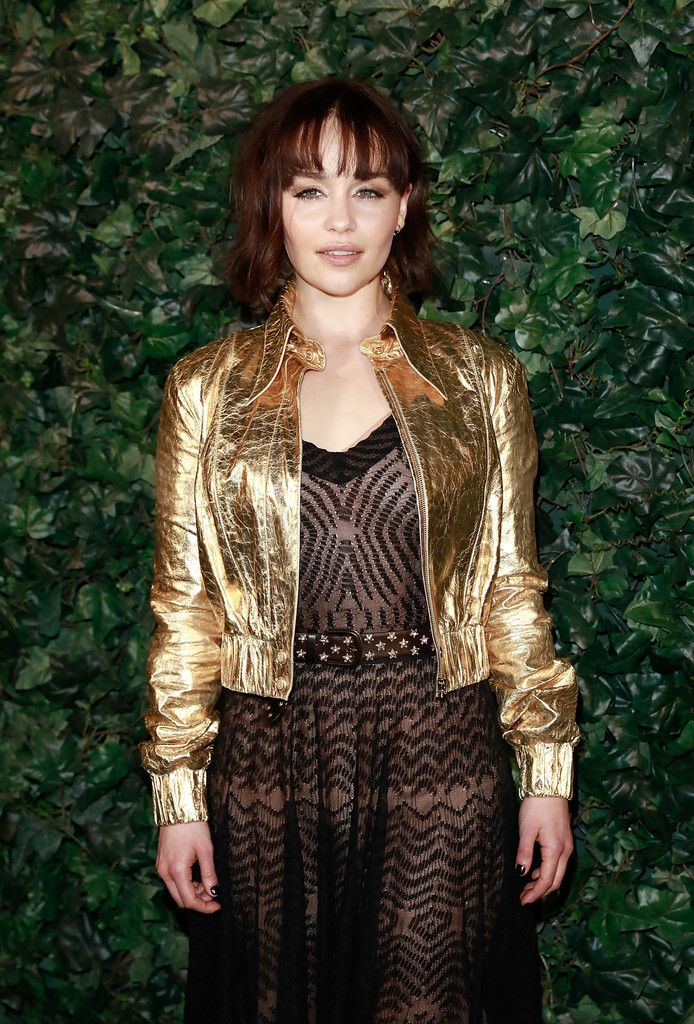 February 11: Charles Finch & Chanel Pre BAFTA Party - 0211 PreBAFTAParty 0029 - Adoring Emilia Clarke - The Photo Gallery