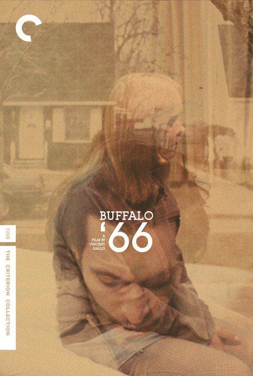 Fake Criterion Cover: BUFFALO '66 (dir. Vincent Gallo) 1998 designed by… popeyephooey:  Fake Criterion for Vincent Gallo's Buffa...