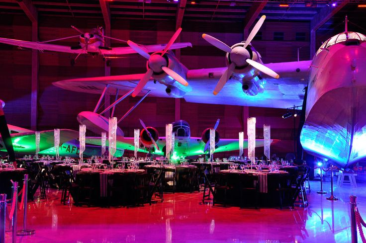 Host up to 800 guests in cocktail style arrangement or 350 for a seated dinner, in our Aviation Display Hall.  #MOTAT #Aviation #Functions #Events #Party #Cocktail #Sitdown #Dinner #Christmasparty #Planes #Unique www.motat.org.nz