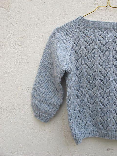 Strikkefeber: Bølge genser
