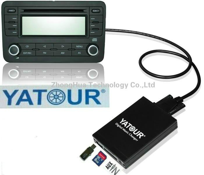 Yatour Digital Music Car CD changer MP3 USB SD Bluetooth AUX adapter for Honda Accord civic CRV Acura 2004-2011 mp3 Interface