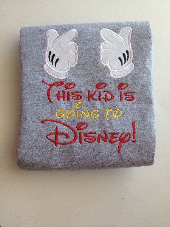 This kid is going to Disney family vacation shirts by TayleeTotBoutique