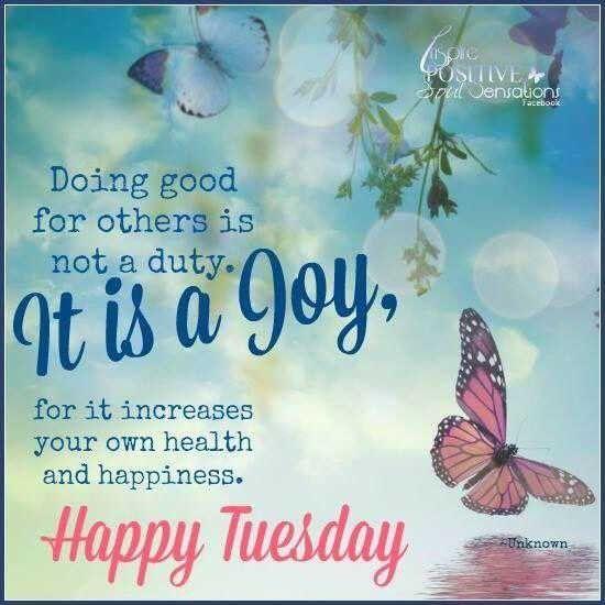Happy Tuesday Inspiration
