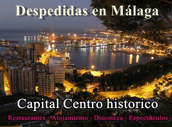 Despedidas de soltero Málaga centro, prepara tu inolvidable despedida de soltero y soltera en el centro histórico de Málaga.