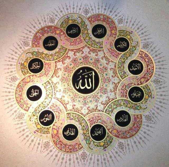 .Names of Allah cc. (Allah is the name of God)