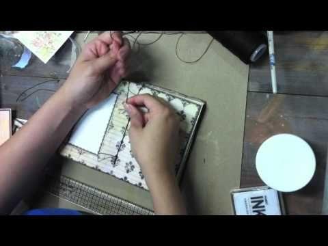 Primrose printable scrapbook mini book with Marion Smith