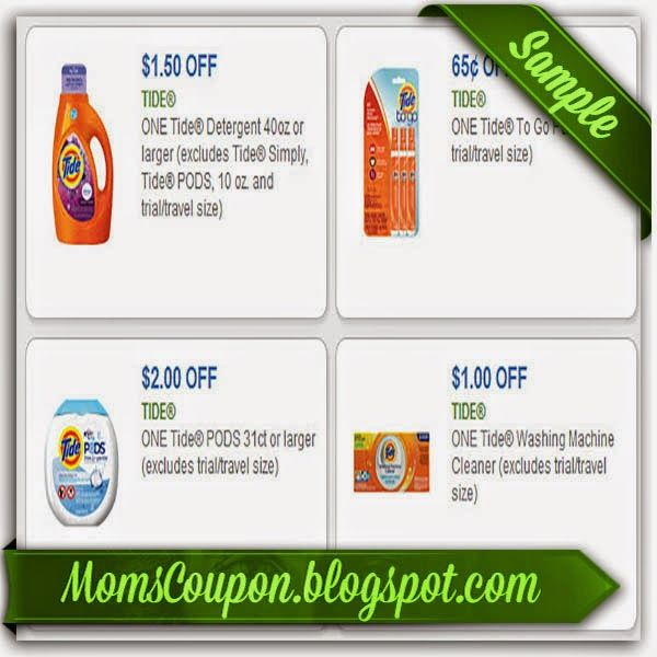 printable Tide coupons 20% off 2015