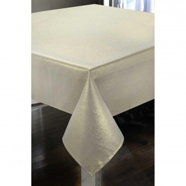 Set your table with a stylish Harman Luxe Shimmer Tablecloth. Elegant and durable, this tablecloth will adorn your table for years to come.    Whether you're looking for stocking stuffers, Secret Santa presents, festive Christmas decor or even gift cards, we have a huge selection of unique holiday stuff to make your days and nights merry and bright.