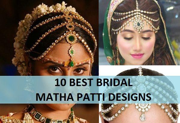 10 Best Bridal Mang Patti Designs for Brides 2015