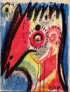 """Carl-Henning Pedersen was a Danish painter and a key member of the COBRA movement. He was known as the """"Scandinavian Chagall"""", and was one of the leading Danish artists of the second half of the 20th century"""