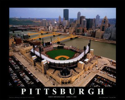 PNC Park. Current home of the Pirates.