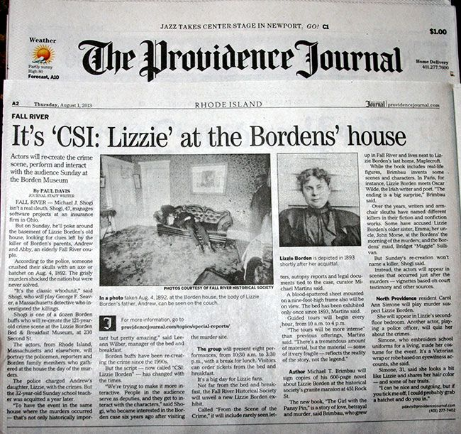 Lizzie Borden Crime Scene Photos   Lizzie Borden Events This Weekend » Mondo Lizzie Borden