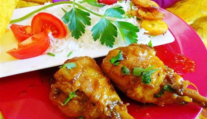Surinaams eten – Creamy Foroe (romige kip met rijst)