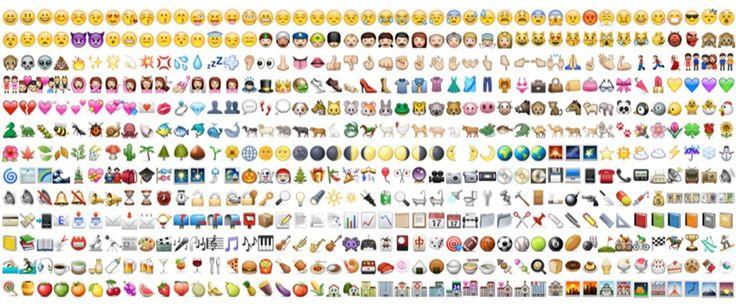 新 상형문자 시대, 이모지(emoji)는 필수