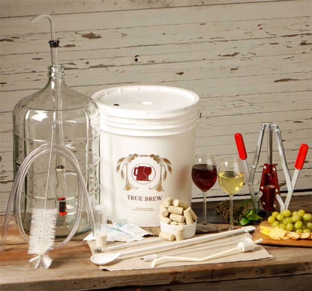Wine Making Equipment Deluxe Kit Home Supplies Accessories For Beginners  #W3012 (Cheese Making Process)