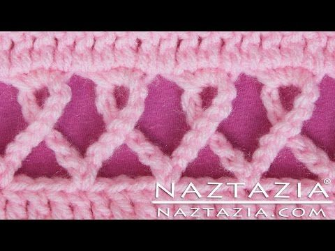 DIY Crochet Pink Awareness Ribbon Scarf Prayer Shawl Wrap Blanket Stitch Breast Cancer Other Causes - YouTube