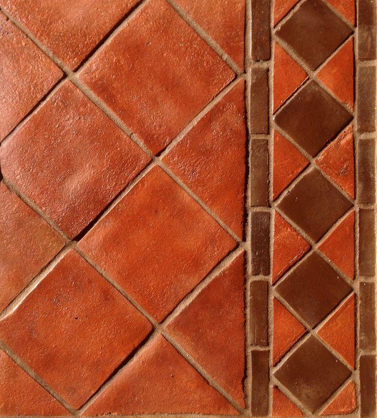 Handmade terracotta floor tiles from spicer tiles for Carrelage 7 5 x 15
