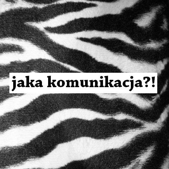 Dominika Szarf - wlepka 2014 #wlepka #komwiz #grafika #jakakomunikacja?