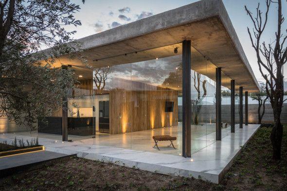 Casa Pabellã N Para Una Sola Persona Arquitectura Arquitectos Casa Moderna