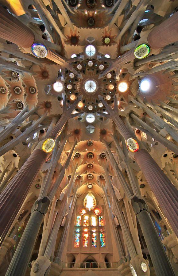 Temple Expiatori de la Sagrada Família,  La Sagrada Familia Barcelona, Spain 