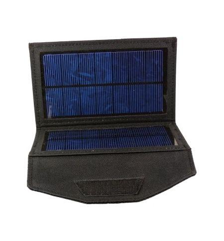 Αναδιπλούμενος Ηλιακός Φορτιστής USB 5V 2W Output. Πάνελ 3W. FOX