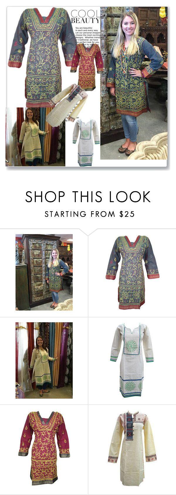 New Year Fashion by baydeals on Polyvore   http://stores.ebay.com/mogulgallery/DESIGNER-KURTI-/_i.html?_fsub=665889019&_sid=3781319&_trksid=p4634.c0.m322