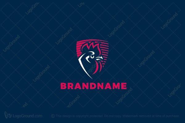 Logo for sale: Rooster Logo