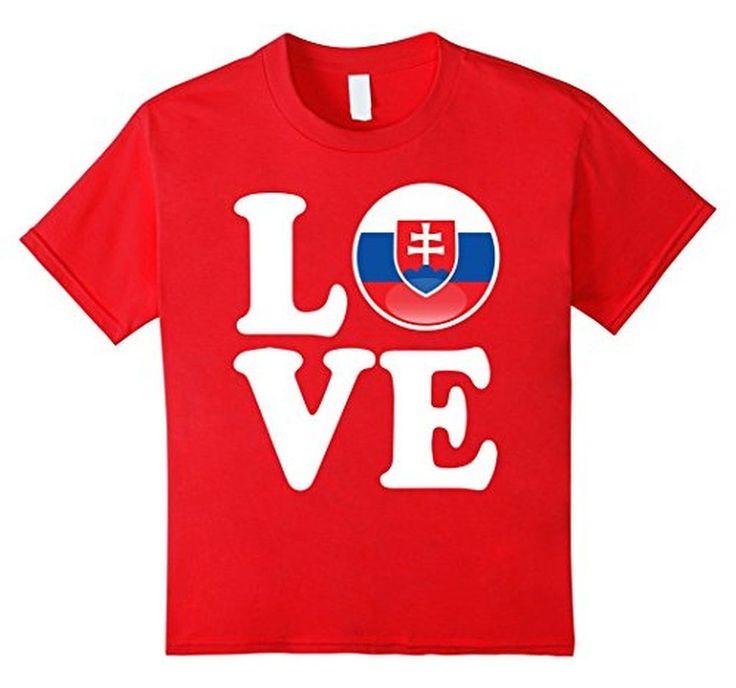 Men's Slovakia Love Slovakia Flag Football vlajka futbal T-Shirt