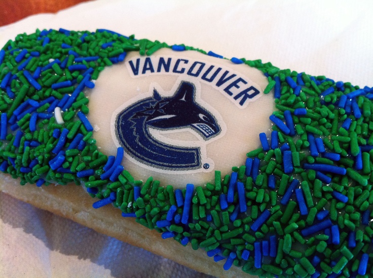 Vancouver Canucks Donut @ Tim Horton's - Vancouver, BC
