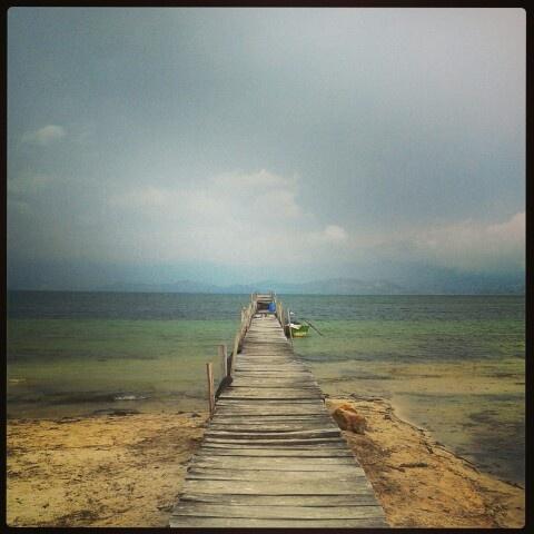 Playa blanca. Laguna de Tota, Boyaca, Colombia.