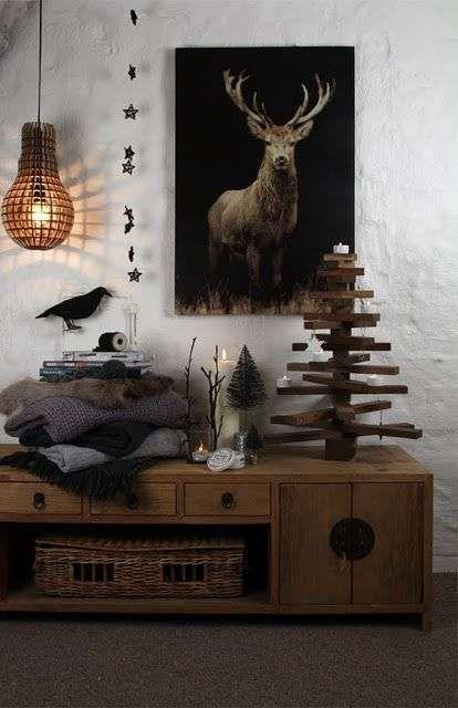 Winterdecoratie Scandinavische stijl