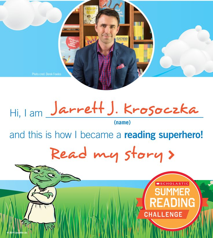 Author Jarrett J. Krosoczka is a #summerreading superhero!