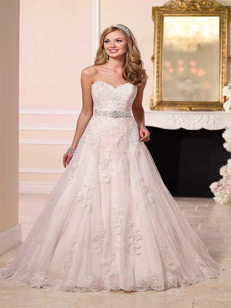 Stella York Evelyn available in our Exeter shop. #prudencegowns #stellayork #DressingYourDreams #Exeter #Devon #Cornwall #bride #weddingdress